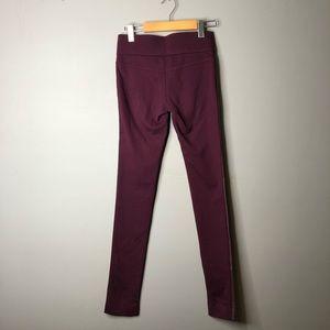 Club Monaco Pants - Club Monaco Tasha Red Faux Leather vegan leggings